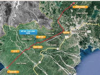 Đầu tư, nâng cấp tuyến Cao Lãnh – Lộ Tẻ – Rạch Sỏi thành đường cao tốc