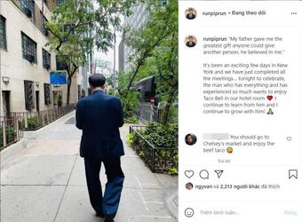 Qua Mỹ, thiếu gia Phillip Nguyễn chia sẻ xúc động về bố - tỷ phú Johnathan Hạnh Nguyễn