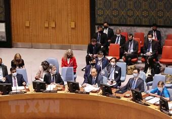 Bài phát biểu của Chủ tịch nước tại Phiên thảo luận về an ninh khí hậu