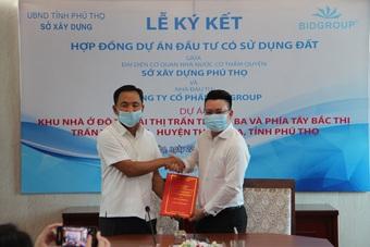 BIDGroup ký kết đầu tư dự án bất động sản cao cấp tại Phú Thọ