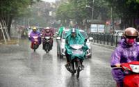 Miền Bắc mưa to vào cuối tuần