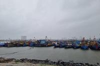 Ngư dân cấp tập đưa tàu thuyền lên bờ tránh bão số 6
