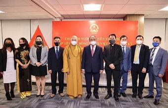Chủ tịch nước: Cộng đồng người Việt ở nước ngoài đã có những đóng góp to lớn vào sự phát triển của đất nước