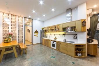 Nối 2 lô đất nhỏ thành một không gian nhà ở và cho thuê ở Sài Gòn