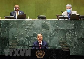 Phát biểu quan trọng của Chủ tịch nước Nguyễn Xuân Phúc tại Liên Hợp Quốc