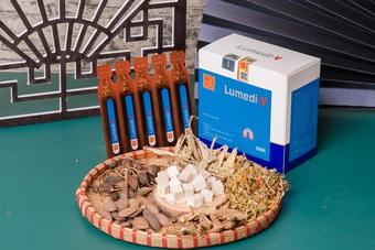 Ngũ Phúc Đường tặng sản phẩm Lumedi-V hỗ trợ mùa dịch