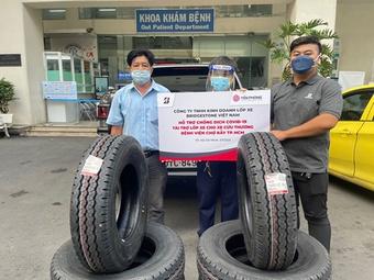 Bridgestone Việt Nam tham gia góp sức cùng cộng đồng phòng chống dịch Covid-19