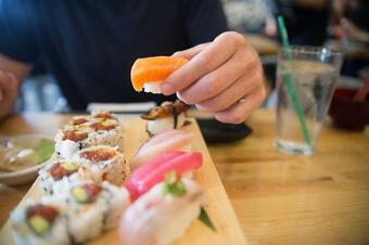 Cách ăn sushi chuẩn kiểu Nhật