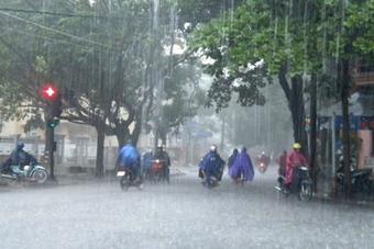 Áp thấp nhiệt đới cách Phú Yên, Bình Định 330-340 km, gió giật cấp 9