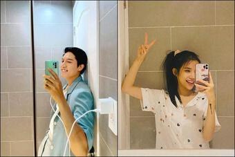 Hòa Minzy vô tình hé lộ chuyện Anh Tú sống chung với LyLy?