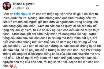 """Vợ cũ Bằng Kiều: """"Phi Nhung đã trở nặng, bác sĩ nói với con gái gia đình nên chuẩn bị tinh thần"""""""