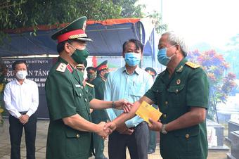 Quảng Nam tổ chức lễ truy điệu, an táng 18 hài cốt liệt sĩ