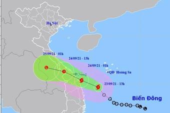 Áp thấp nhiệt đới mạnh lên thành bão, miền Trung mưa rất to