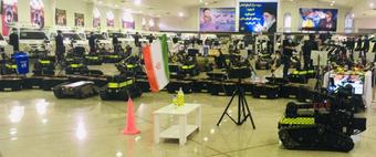 Iran trình làng robot quân sự mới