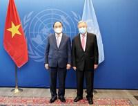 Lãnh đạo Liên hợp quốc và các nước đánh giá cao đóng góp của Việt Nam tại LHQ