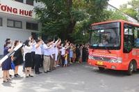 Đoàn thầy thuốc Huế tiếp tục lên đường vào TP HCM hỗ trợ chống dịch