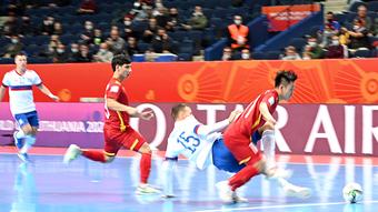 Futsal Việt Nam ngẩng cao đầu rời World Cup