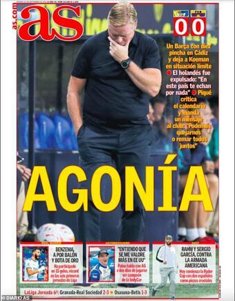 Báo chí Tây Ban Nha đồng loạt chê bai màn trình diễn của Barcelona