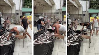 Gia đình 'sộp' nhất miền Tây: Mang hồ cá to để trước nhà, ai cần cứ lấy