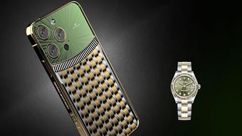 """Bộ sưu tập iPhone 13 Pro xa xỉ nhất dành cho các """"dân chơi"""" Rolex"""