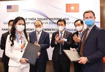 Hàng loạt hợp đồng tỷ đô được ký kết giữa doanh nghiệp Việt với đối tác Mỹ
