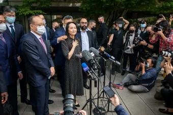 Công chúa Huawei đã về đến Trung Quốc?