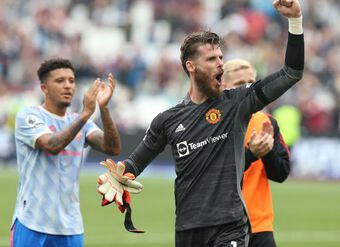 De Gea chỉ ra hình mẫu tại Man Utd
