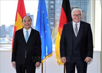 """Chủ tịch nước Nguyễn Xuân Phúc: Việt Nam và Đức có """"tài sản chung vô giá"""""""
