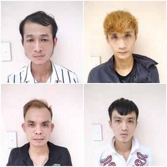 Chân dung 4 kẻ nghiện ma túy xông vào phòng trọ số 7, khống chế 2 cô gái cướp tài sản