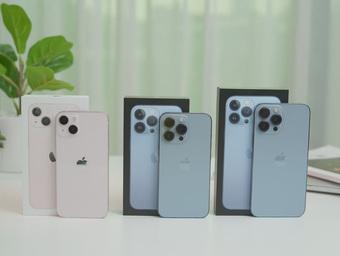 Cận cảnh 3 mẫu iPhone 13 vừa về Việt Nam