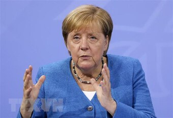 Thủ tướng Merkel tới đại bản doanh của CSU vận động bầu cử