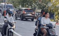 Đi ngược chiều trên cao tốc rồi yêu cầu phương tiện khác nhường đường, nữ tài xế khiến CĐM ngán ngẩm: 'Không biết mua bằng ở đâu'