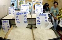 Giá gạo Thái Lan thấp nhất trong 18 tháng, giá gạo Việt Nam tăng nhẹ