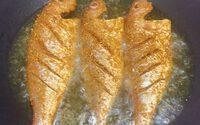 Món cá hường muối sả chiên giòn thơm phức