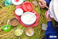 Gặt lúa, bắt cá mưu sinh giữa TP.HCM trong mùa dịch
