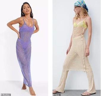 Váy 'khỏa thân' được sao quốc tế chuộng hậu giãn cách