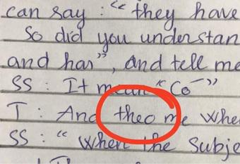 Cô dặn chỉ còn 5 phút nộp bài, nữ sinh viết vội 1 từ Tiếng Anh, khiến nghĩa cả câu trở nên kinh hoàng thế này