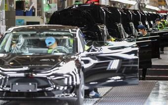 Nhà máy Tesla ở Thượng Hải sản xuất 300.000 xe trong 9 tháng