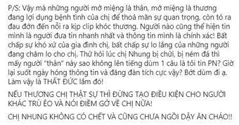 'Phi Nhung không chết, cũng chưa ngồi dậy ăn cháo'