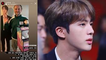 ''Diễn viên'' Jin BTS tiếp tục trở thành chủ đề nóng trên mạng xã hội
