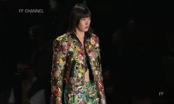 Mẫu nữ Việt đầu tiên diễn show Dolce & Gabbana