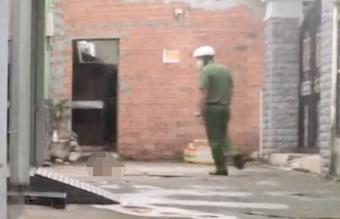Công an điều tra vụ thi thể người đàn ông không nguyên vẹn ở trong hẻm