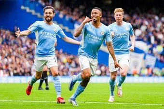 ĐIỂM NHẤN Chelsea 0-1 Man City: Người hùng Jesus. Guardiola đã có thể mỉm cười