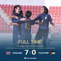 """""""Thổi bay"""" Palestine, đội tuyển Thái Lan chính thức giành vé dự Asian Cup"""