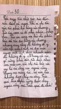 Bé gái lớp 2 viết nhật ký nói xấu cả thế giới, tự nhận ngu ngốc nhưng vẫn chốt 1 câu khiến dân tình cười ngất