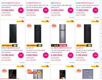 Tủ lạnh giảm giá ''sập sàn'', chưa đến 5 triệu mua được hàng ngon