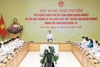 Thủ tướng: Tập trung cải cách hành chính, chống gây sách nhiễu cho DN