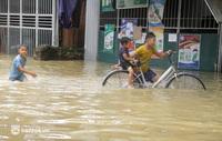 Cận cảnh hơn 3.000 hộ dân ở Nghệ An vẫn bì bõm trong lũ