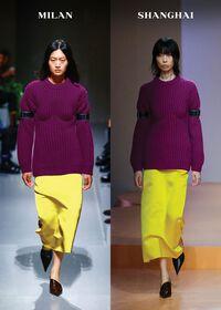 Raf Simons và Prada nổi bật trong bộ sưu tập Xuân/Hè 2022