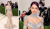 Hương Giang đổ bộ sự kiện với váy xuyên thấu hệt Kendall Jenner?